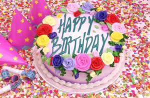 Celebrating a BIG THING--Joan's birthday! Clip Art