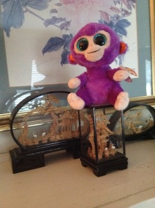 Monkey from Joan Edwards. Copyright 2016. Linda Martin Andersen